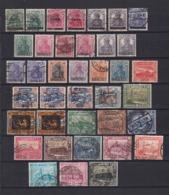 Saargebiet - 1920/22 - Sammlung - Gest./Ungebr. - Gebraucht