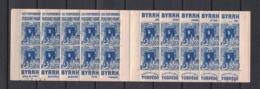 Algerie - Algeria - Carnet Yvert 137 Complet - Complete Booklet Scott#53a - Unused Stamps