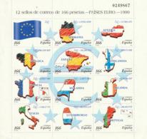 1999 Bloc Passage à L'euro - Blocs & Hojas