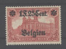 Belgien,23 II,xx,gep. - Besetzungen 1914-18