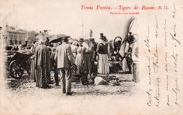 TYPES DE RUSSIE-1901- MARCHÉ-N°51 - Russie