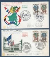 France - FDC - Premier Jour - Europa - 1957 - 1950-1959