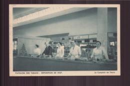 PAVILLON DES TABACS EXPOSITION DE 1937 LE COMPTOIR DE VENTE - Expositions