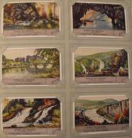 6 Chromo Liebig : Rivières Des Ardennes. 1939. S 1398 - Liebig