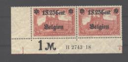 Belgien,23,IBb,HAN,xx,gep. - Besetzungen 1914-18