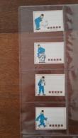 Tintin Kuifje - Sticker Autocollant étiquette POULAIN - Autocollants