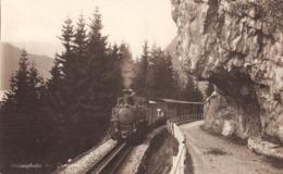CPA  Suisse, BRUNIGBAHN, Bei Lungern, Chemin De Fer, Train, Carte Photo. - BE Berne