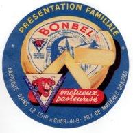Ancienne étiquette Fromage BONBEL (La Vache Qui Rit) - Kaas