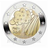 *MALTA - 2 Euro Commemorativo 2019: SERIE BAMBINI - NATURA E AMBIENTE - Malta