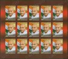 2019-2538 Russia M/S 150 Years Since The Birth Of Mahatma Gandhi Mi 2753 - 1992-.... Föderation