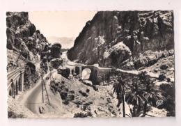 El Kantara : Le Pont Romain, La Route Et La Voie Du Chemin De Fer Dans Les Gorges  - Carte Neuve Cap - Années 50-60 - - Biskra