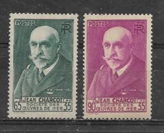 FRANCE  -  Yvert   N° 377 Et 377 A * CHARCOT - Francia