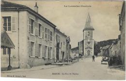 54    Maron   La Rue De L'eglise - Autres Communes