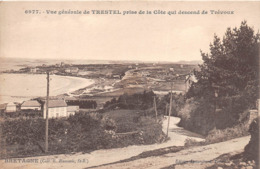 ¤¤   -   TRESTEL    -  Vue Générale Prise De La Côte Qui Descend De TREVOUX     -  ¤¤ - Autres Communes