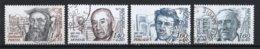 France 1982 : Timbres Yvert & Tellier N° 2225 - 2226 - 2227 - 2228 - 2229 Et 2230 Avec Oblit.rondes - France