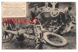 CPA - L'Auto Brisée Par Un Train à Un Passage à Niveau Non Muni De Barrières Le 15 Septembre 1920 - Supp. Aux Annales - Voitures De Tourisme
