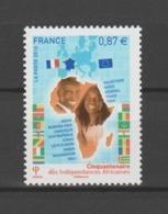 FRANCE / 2010 / Y&T N° 4496 ** : Cinquantaine Des Indépendances Africaines X 1 - Unused Stamps