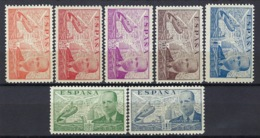 Espagne, Poste Aérienne, 1938, N° 195 à 201 ** TB - Neufs