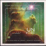 2013 UNO Wien Mi. Bl 33**MNH  Internationale Weltraumwoche: Nebel - Hojas Y Bloques