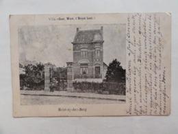 """Heist-op-den-Berg , Villa """" Oost West Heyst Best """"  1902 - Heist-op-den-Berg"""
