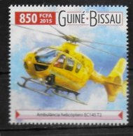 GUINEE BISSAU  N° 6057  * *  Secours Ambulance Helicoptere - Hubschrauber