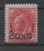 Canada, MH, 1899, Michel 75 - 1851-1902 Victoria