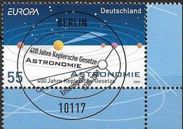 2009  Deutschland Allem. Fed. Mi. 2732 FD- Used Berlin EUR   Europa: Astronomie - Europa-CEPT