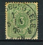 ALLEMAGNE ( POSTE ) : Y&T  N°  30  TIMBRE  BIEN  OBLITERE , A VOIR . - Germany