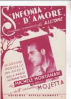 SINFONIA D'AMORE SPARTITO AUTENTICO 100% - Film Music