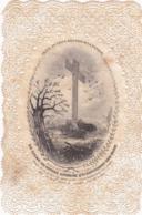 Image Pieuse : Holy Card - Santino : CANIVET : - Le Calme De Divers Animaux Qui Entourent Une Croix - - Andachtsbilder