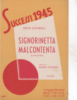 SIGNORINETTA MALCONTENTA SPARTITO AUTENTICO 100% - Música & Instrumentos