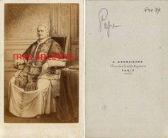 CDV Le Pape Pie IX-photo Desmaisons à Paris-bel état - Old (before 1900)