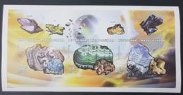 MADAGASCAR 1997 - IMPERF SHEET BLOC ND - MINERALS MINERAUX STONES PIERRES - RARE MNH - Minéraux