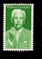 862415683 SCOTT 2350 POSTFRIS MINT NEVER HINGED EINWANDFREI (XX) - LITERARY ARTS WILLIAM FAULKNER - Unused Stamps