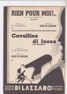 CAVALLINE DI LUSSO  SPARTITO AUTENTICO 100% - Música De Películas