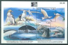 NEW ZEALAND - MNH/** - 1996 - ALBATROS + DOLFIN - CHINA 96 - Lot 20616 - Blocs-feuillets