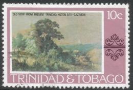 Trinidad & Tobago. 1976 Paintings, Hotels And Orchids. 10c Used. SG 482 - Trinidad & Tobago (1962-...)