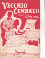 VECCHIO CEMBALO  SPARTITO AUTENTICO 100% - Música & Instrumentos