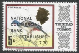 Trinidad & Tobago. 1970 Inaugeration Of National Commercial Bank. 5c Used. SG 382 - Trinidad & Tobago (1962-...)