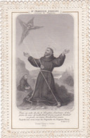 Image Pieuse : Holy Card - Santino : CANIVET : - ST- FRANCOIS D'ASSISE - - Images Religieuses