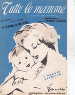 TUTTE LE MAMME SPARTITO AUTENTICO 100% - Música & Instrumentos