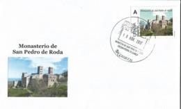 SPAIN. POSTMARK SAN PEDRO DE RODA MONASTERY. 2017 - España