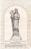 Image Pieuse : Holy Card - Santino : CANIVET : - NOTRE-DAME De FRANCE - - Devotion Images