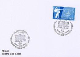 ITALIA - MILANO - TEATRO ALLA SCALA  -  Fronte Del Teatro - Danza
