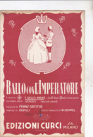 BALLO CON L'IMPERATORE SPARTITO AUTENTICO 100% - Música & Instrumentos
