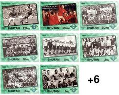 Ref. 39112 * MNH * - BHUTAN. 1991. WORLD FOOTBALL CUP.-57-58-59-60-46 . COPA DEL MUNDO DE FUTBOL.-57-58-59-60-46 - Fussball