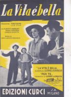 LA VITA E BELLA SPARTITO AUTENTICO 100% - Música De Películas