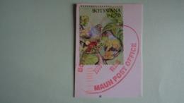BOTSWANA  4,70 P - Pigeons Verts Sur Fragment - Obli 2008, Used - Botswana (1966-...)