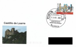 SPAIN. POSTMARK LOARRE CASTLE. 2019 - España