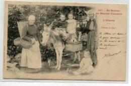 23 A De Nussac 121 Gueret - Au Retour Du Marché Creusois Petits Paysans Sur ANE Cherchez Le Chat  ! 1903   D15 2019 - Unclassified